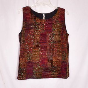 White Stag Tank Top Sleeveless Fall Colors